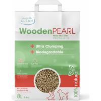 Plantaardige kattenbakvulling Wooden Pearl Quality Clean