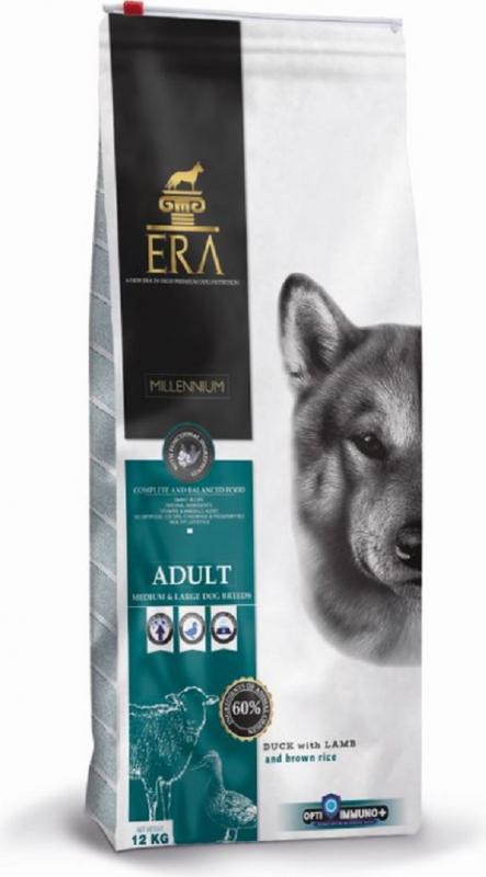 ERA Millennium au Canard & Agneau pour chien adulte de moyenne et grande taille