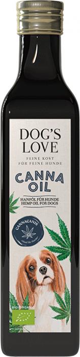 DOG'S LOVE Canna Canis BIO hennep olie 250ml